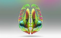 Download wallpapers Magista 2, 4k, brain, Nike, creative, football boots