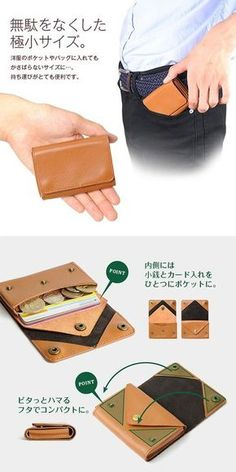 9016672395b Small Leather Wallet, Handmade Leather Wallet, Leather Pouch, Leather  Purses, Leather Bag