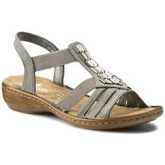 Sandále RIEKER - 60800-42 Grey
