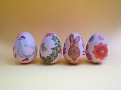 Ντεκουπάζ με χαρτοπετσέτα σε αυγό απο φελιζόλ.  Σαμαρτζή - Βιβλιοπωλείο - Hobby - Καλλιτεχνικά: ΙΔΕΕΣ ΓΙΑ ΧΕΙΡΟΤΕΧΝΙΕΣ - ΧΑΛΚΙΔΑ