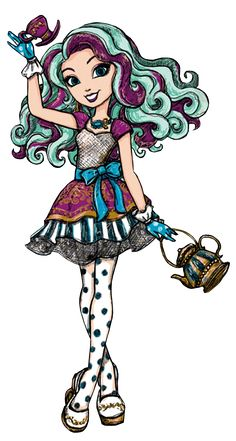 Monster High by Airi Adventures In Wonderland, Alice In Wonderland, Ever After High Rebels, Dibujos Tumblr A Color, Ever After Dolls, Raven Queen, After High School, Dragon Games, Doodle Inspiration