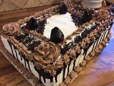 Decoracion De Pastel De Chocolate