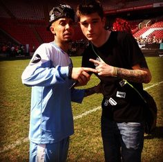 When Rich met Dappy!! I was here x