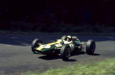 Jim Clark 1965 German GP in the Nurburgring, F1 Lotus 25