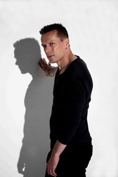 U2's Larry Mullen by Andy Willsher in Dublin, May 2009
