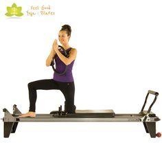 kneeling inner thigh pilates reformer exercise 2