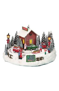 Roman Musical Light-Up Christmas Tree Farm Decoration available at #Nordstrom