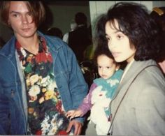 River Phoenix, Lisa Bonet,and Zoe Kravitz
