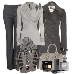 """Shades of Gray"" by reneelyn on Polyvore"