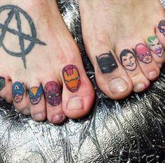 marvel dc tattoos - Поиск в Google - Visit now to grab yourself a super hero…