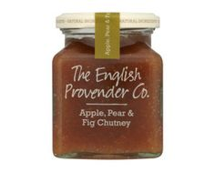 The English Provender Co. Apple, Pear & Fig Chutney - Kitchen Goddess