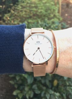 b6d93294a84a I love Daniel Wellington watches so much! They re a great accessory ...