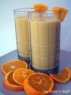 Six Sisters Healthy Orange Julius is a great breakfast drink.