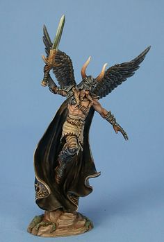 Male Fallen Angel - Visions in Fantasy - Miniature Lines