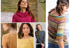 Knitscene Presents Easy Seamless Sweaters to Knit with 5 Favorite Raglan Sweater Patterns