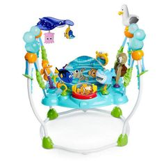 http://www.largesttoystore.com/category/jumperoo/ #disney finding nemo #baby jumperoo bouncer jump play toy sea 13 activities gift from $179.99