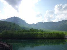 """""""Taishoike""""(Lago), Kamikochi Nagano Japan"""