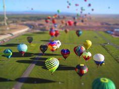 Albuquerque, New Mexico's Hot Air Balloon Fiesta