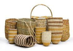 (MANINGRIDA) woven pandanus with natural dyes