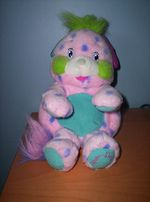 Popples - I still have a baby blanket that was made for me with Popples on it