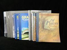 ABeka Grammar and Composition II & Of Places w. Keys, LN Homeschool / School 8th #TextbookBundleKit