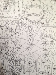 doodle, art journaling, art journal, christmas, stickers,decorated labels, avery labels