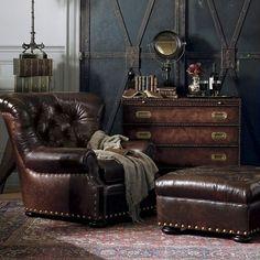 leather furniture steampunk design