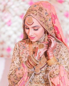 Walima Day 💖 photo creds make up and dupatta setting and thank you to for my sequence undercap and neck coverings ❤️ Muslim Wedding Gown, Indian Wedding Wear, Muslim Wedding Dresses, Disney Wedding Dresses, Muslim Brides, Wedding Dresses For Girls, Indian Bridal, Bridal Hijab Styles, Asian Bridal Dresses