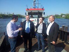 SPD-Politiker machen sich ein Bild vom Zustand der Wasserstraßen