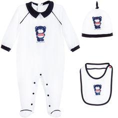 Boys 3 Piece Babygrow Gift Set, GF Ferre, Boy