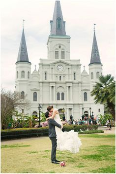 Wedding in New Orleans | Image by Pure Sugar Studios