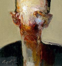 Dan McCaw, Head Dan McCaw (paintings, visual arts, plastic arts, fine arts)