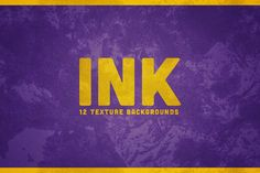INK Texture Backgrounds by mamounalbibi