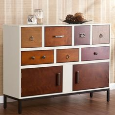 Upton Home Greyson Multi-drawer Wood Console