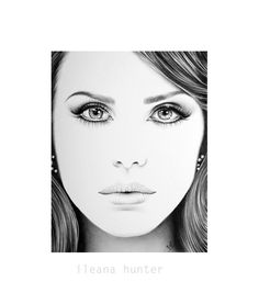 Ileana Hunter художник рисующий карандашом Красивые ФШ арты - 22 stunning hype realistic drawings iliana hunter