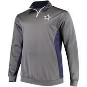 #NFLShop.com - #NFLShop.com Men's Dallas Cowboys Charcoal Big & Tall Quarter-Zip Pullover Jacket - AdoreWe.com
