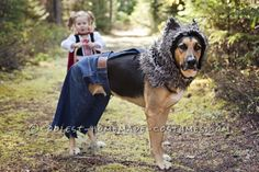 Little Bad Wolf Costume for a Dog... Coolest Halloween Costume Contest
