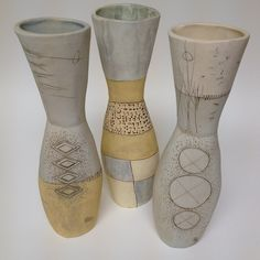 2012Spring/Summer Collection for Heath Ceramics, via Flickr. Heath Ceramics, Porcelain Ceramics, Ceramic Vase, Ceramic Pottery, Ceramic Painting, Stone Painting, Pottery Classes, Handmade Pottery, Sculpture Clay