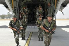 Indian Air Force first ever joint military exercise with Israel  India will participate in the Blue Flag training event with a C-130J special operations aircraft and GARUD commandos.