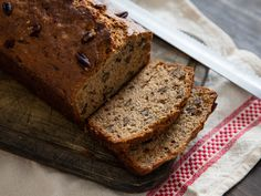 This is my favorite recipe for banana bread, loaded with coconut oil, oat flour, and thick Greek yogurt so it's always tender and moist. I use a blend of cinnamon, nutmeg, and cloves to boost the natural flavor of banana, making this loaf less spicy than banana-y. If you really want to step up your game, forget butter—try topping a slice with a dollop of thick and fruity banana whipped cream.