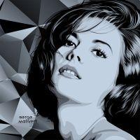 Natalie Wood by sergemalivert