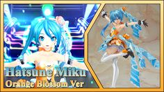 Hatsune Miku -Project Diva- F 2nd 1/7 Orange Blossom Ver -  (Max Factory)