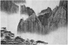 Lee Chun-yi, Immense Vista From the Perilous Peak, 2010
