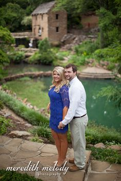 Old Mill Engagement Portraits