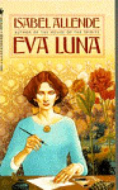 Eva Luna by Isabel Allende PQ8098.1.L54 E813 1988  An exotic dance that beguiles and entices... The enchanted and enchanting account of a  contemporary Scheherazade, a wide-eyed American  teller-of-tales who triumphs over harsh reality  through the creative power of her own imagination.