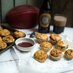 Steak, Tomato & Stout Party Pies - Perfect for this weekends AFL footy grand final!!!