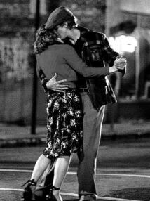 "I remember when I used to dance with the girl I fell in love with like this. ""I'll be seeing you."" -Billie Holiday"