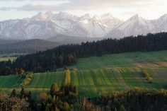 Le parc national des Tatras - Pologne