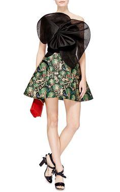 Jacquard Skirt by DELPOZO - Moda Operandi