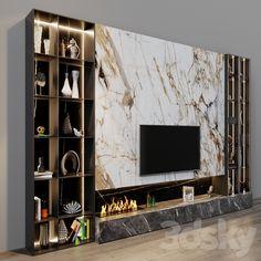 Tv Cabinet Design Modern, Tv Cabinet Wall Design, Modern Home Interior Design, Tv Wall Design, Ceiling Design, Living Tv, Living Room Wall Units, Living Room Tv Unit Designs, Modern Tv Room